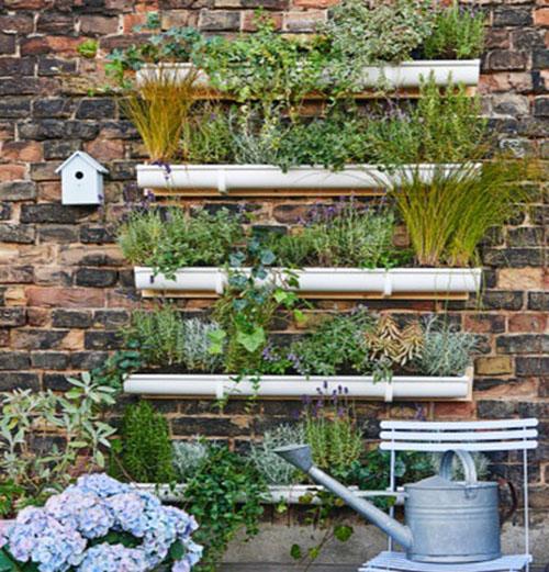 Recycrafts reciclaje creativo mundo handmade y decoracion - Jardin vertical terraza ...
